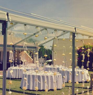 Wypożyczalnia namiotów ślubnych z wyposażeniem