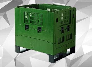 Zastosowanie składanych skrzyniopalet w branży przemysłowej